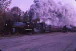Early morning at Steamtown