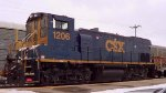 CSX 1206 on a Double Headed MOW Train