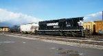 NS 3202 Idles in Buffalo Junction Yard