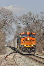 BNSF 7224 On NS 251 Eastbound