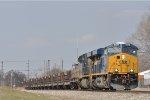 CSXT 3079 On CSX K 587 Eastbound