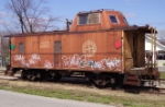 The Last Active DT&I Caboose