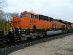 Conductors Side Of BNSF 6541
