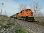 BNSF ACe With NS Heritage ACe