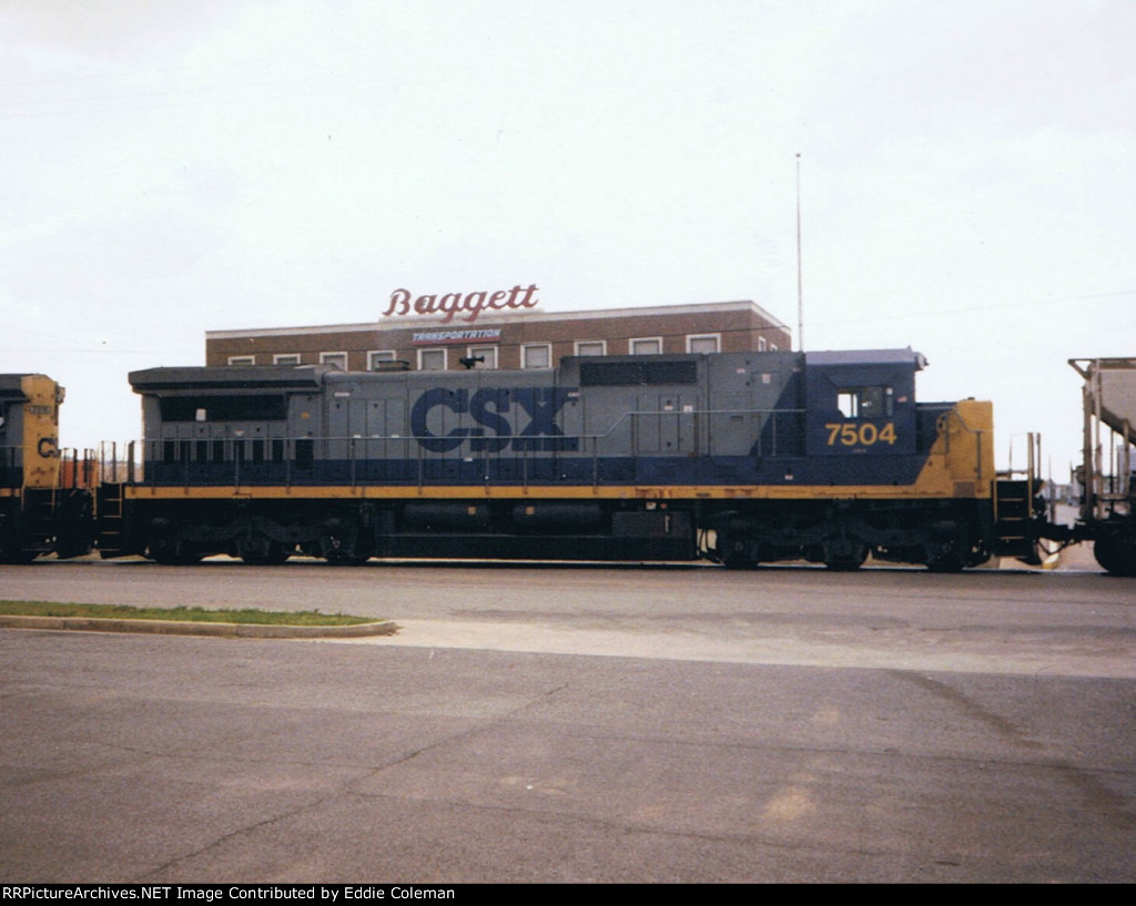 CSX C40-8 #7504