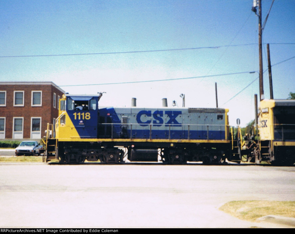 CSX SW1500 #1118
