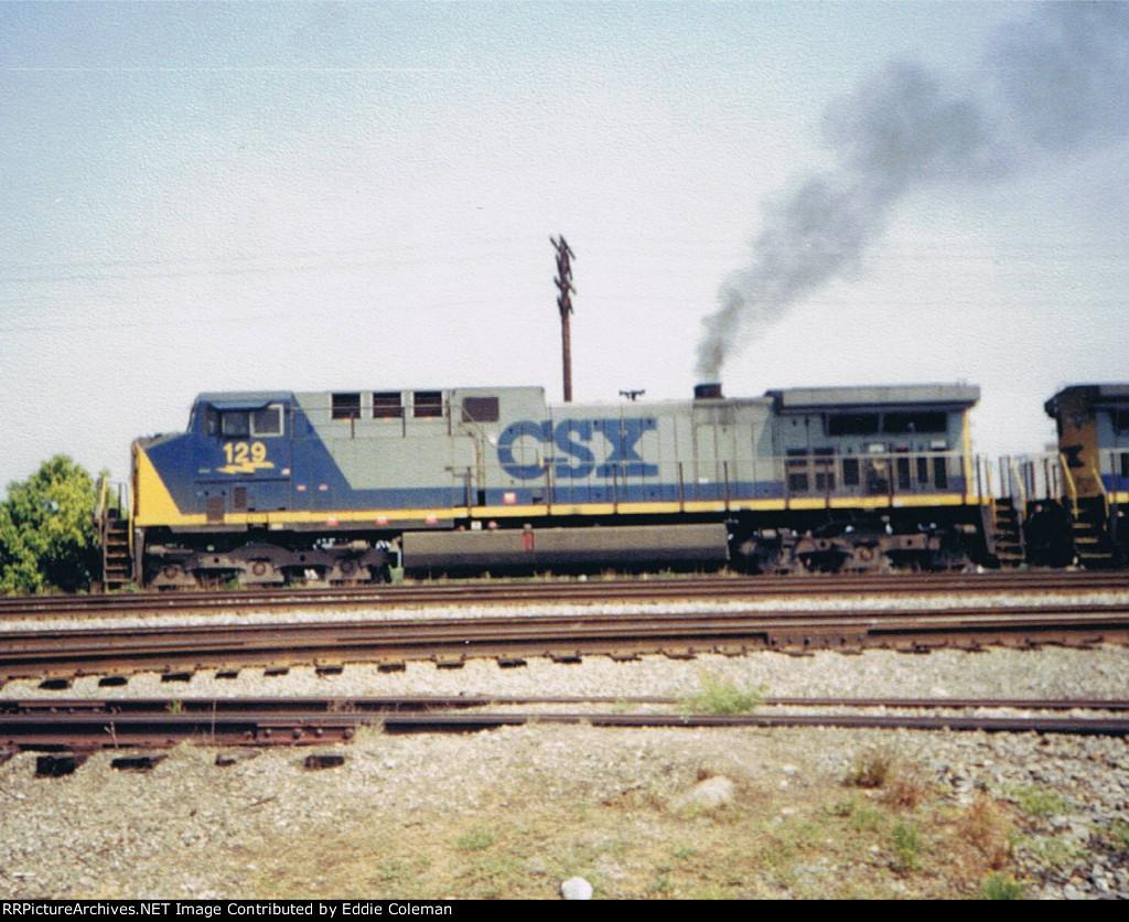 CSX AC44CW #129