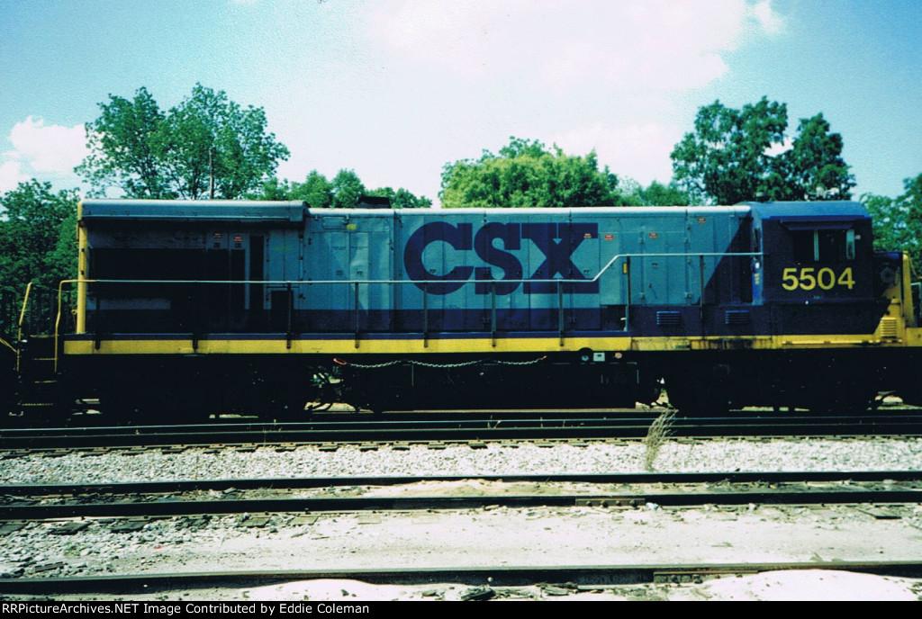 CSX B30-7 #5504