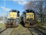 CSX 2402 and 5552