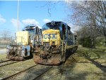CSX 5552 and 2402