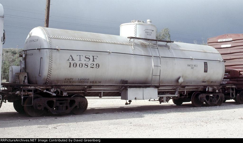 ATSF tank car Tk-L 100829
