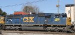 CSX 4528 heads south on train Q463