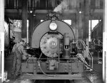 Maintaining Alco 0-4-0T 30