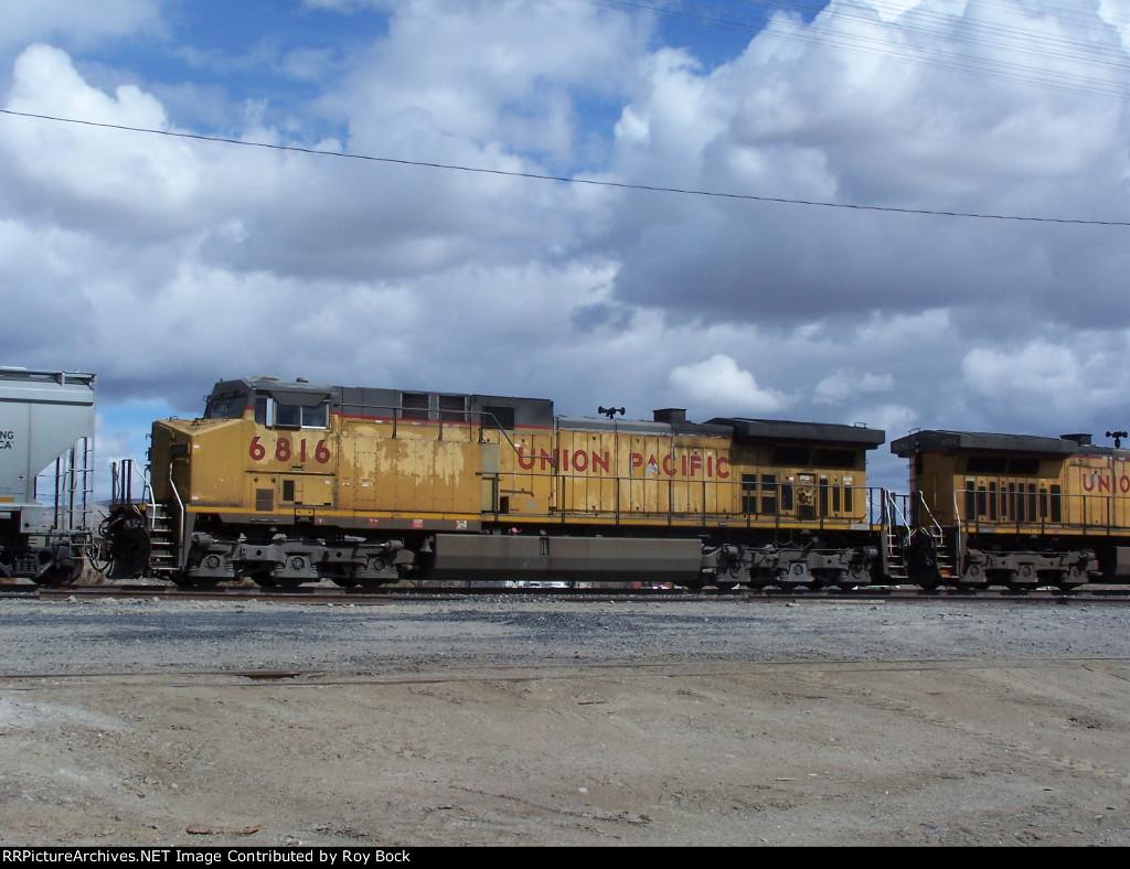 Trailing engine UP 6816