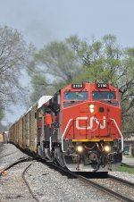 CN 2150 On NS 177 Eastbound