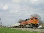 BNSF 6538 On NS 251 Eastbound