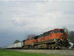 BNSF 1030 On NS 251 Eastbound