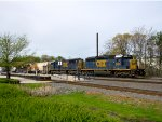 CSX 8854 and 8758