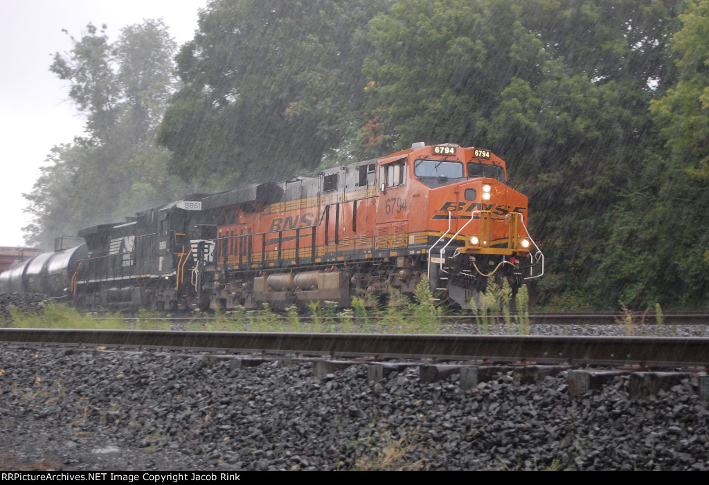 NS 15T in the Pouring Rain