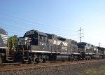 NS GP38-2 5311 & C44-9W 9253