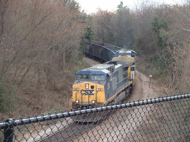 Coal Train arriving