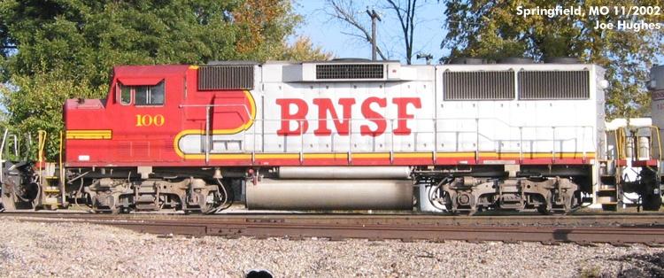 BNSF 0100