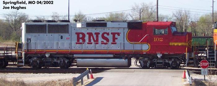 BNSF 0102