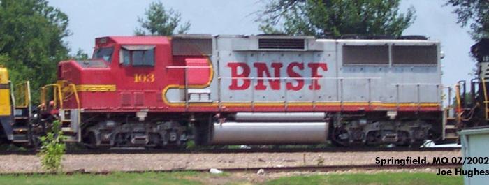 BNSF 0103