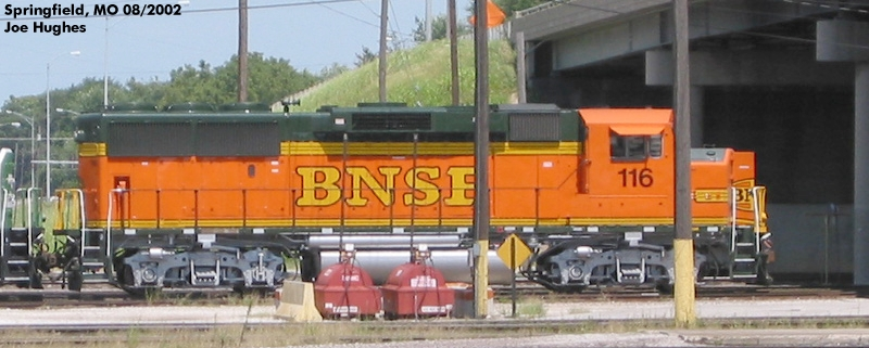 BNSF 0116
