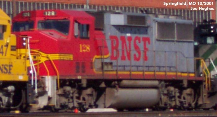 BNSF 0128