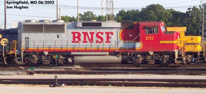 BNSF 0157