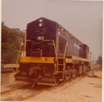 US Army Diesel 1813 at Fort Eustis, Virginia 1975