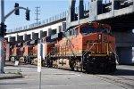 Stack train shoves back