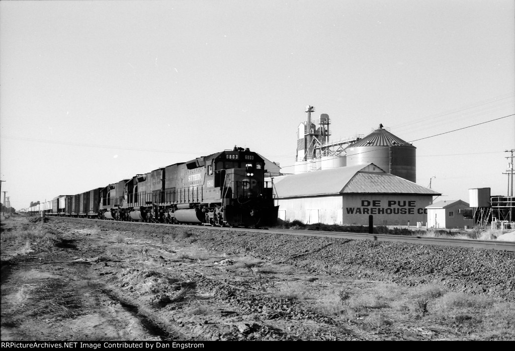 SP Freight on West Valley line in 1990