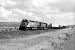 Westbound SP freight on Modoc Line 1990