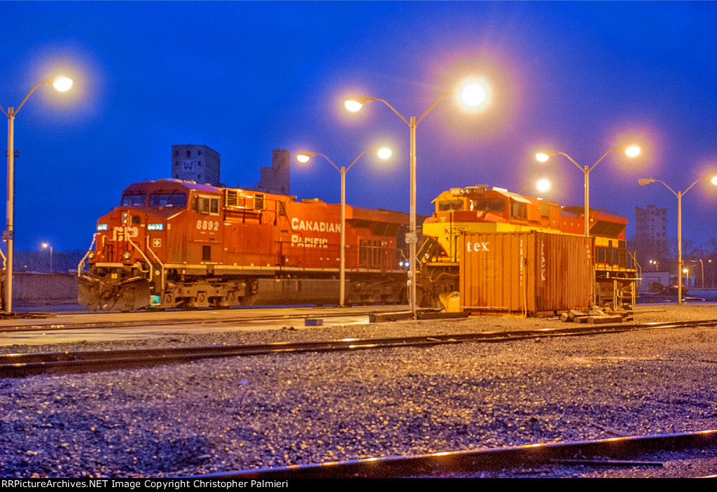 CP 8892 and KCS 4125