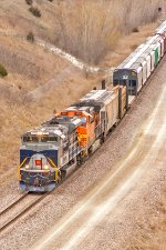 NS 1070 and BNSF 5660 Lead H-LINKCK1-16