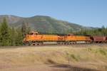 BNSF 4133 Hi Line Sub east of West Glacier, Montana