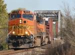 BNSF 5116 at Oregon, IL