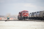 CP 8865 - light into the yard to pick up cars