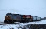 Westbound KCS Hopper Train