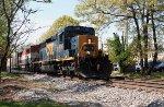 CSX 4036 & BCOL 4606 on CSX train Q226