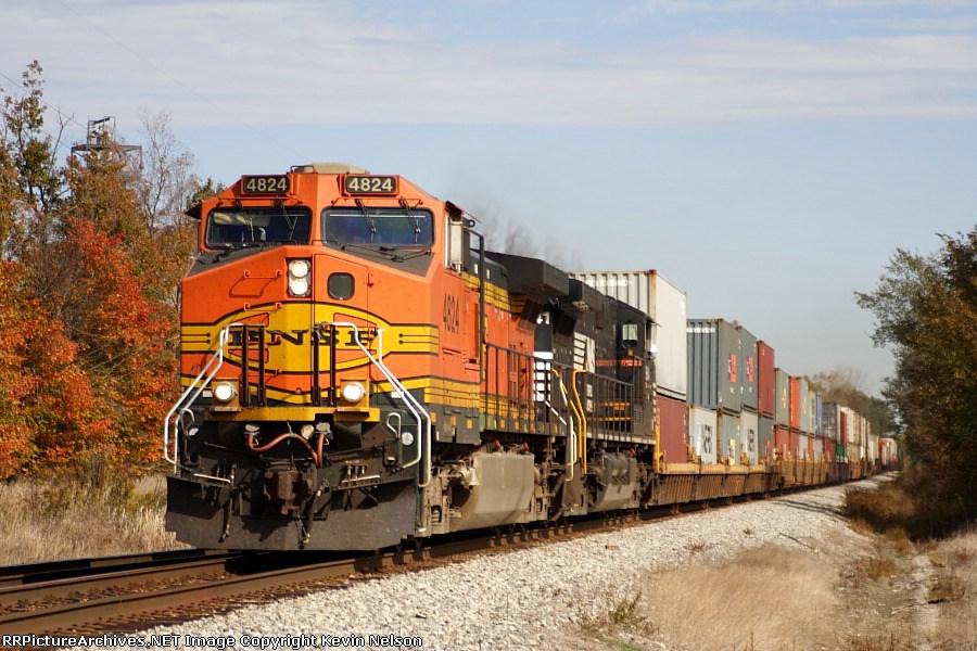 BNSF 4824 C44-9W
