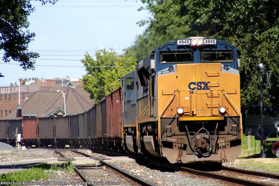 CSX 4849 SD70ACe