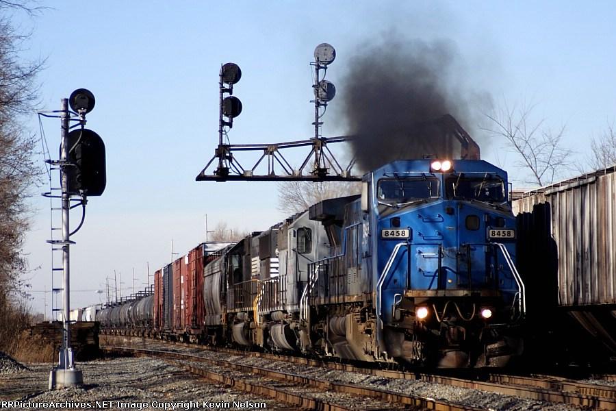 NS 8458 C40-8W