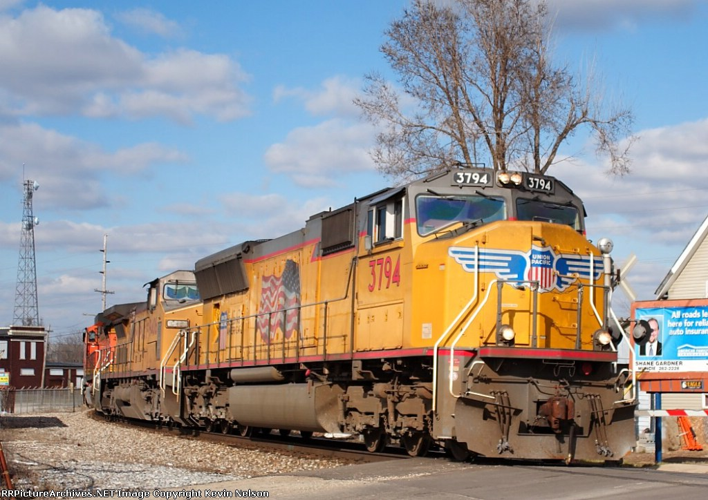 UP 3794 SD70M