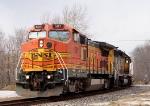 BNSF 501 B40-8W