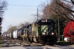 BNSF 7045 SD40-2