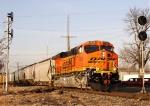 BNSF 7638 ES44DC