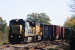 CSX 7557 C40-8
